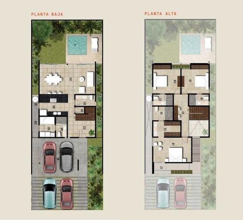 casa en venta privada macora 86, san pedro cholul (mod. a)
