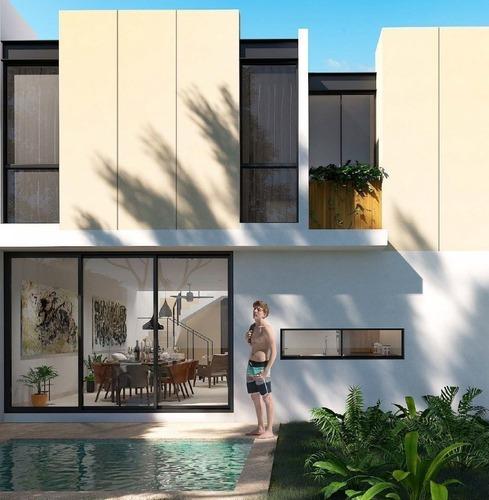 casa en venta privada macora 86, san pedro cholul (mod. b)