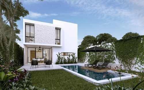 casa en venta privada malva, conkal (mod. a)