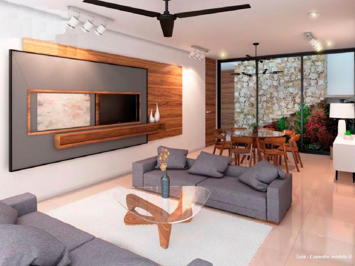casa en venta, privada, temozón zona plaza galerías. cv-4885