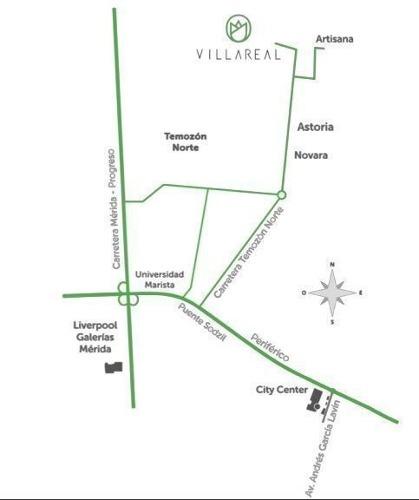 casa en venta privada villareal, temozón norte (lote 8)