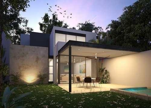 casa en venta privada zelena, conkal