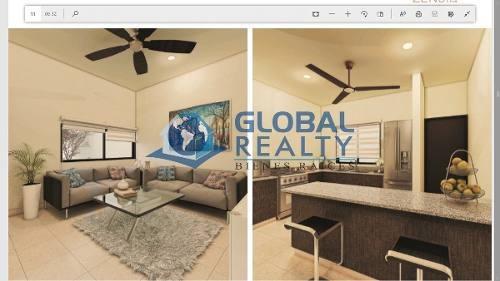 casa en venta, privada zona cholul-conkal ¡esquina! cv-5022