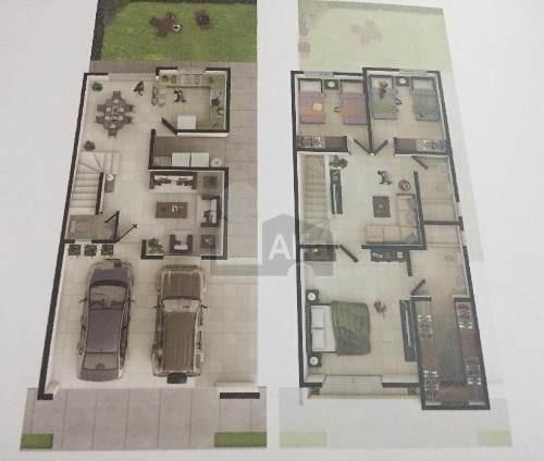 casa en venta puerta de hierro con terraza en privada