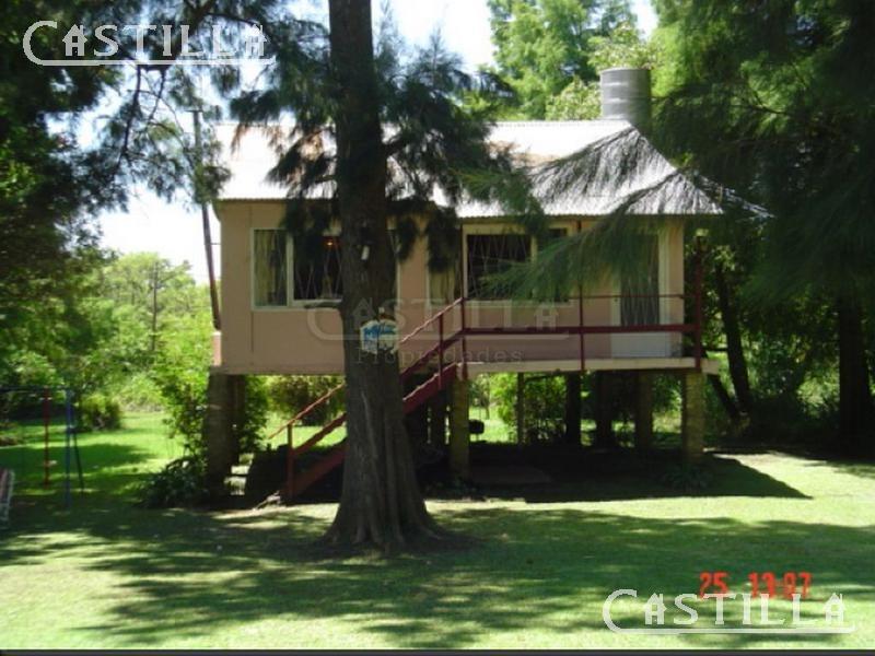 casa en venta sobre arroyo abra vieja - zona delta tigre