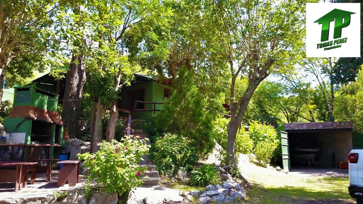 casa en venta sobre el lago de embalse calamuchita