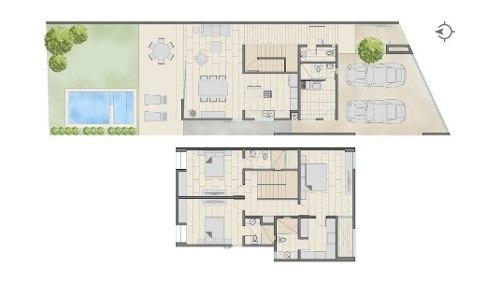 casa en venta sodzil 317 - 319