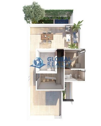 casa en venta, temozón cerca de cabo norte. cv-5077