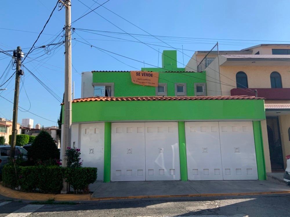 casa en venta tlalnepantla, con alberca y en esquina