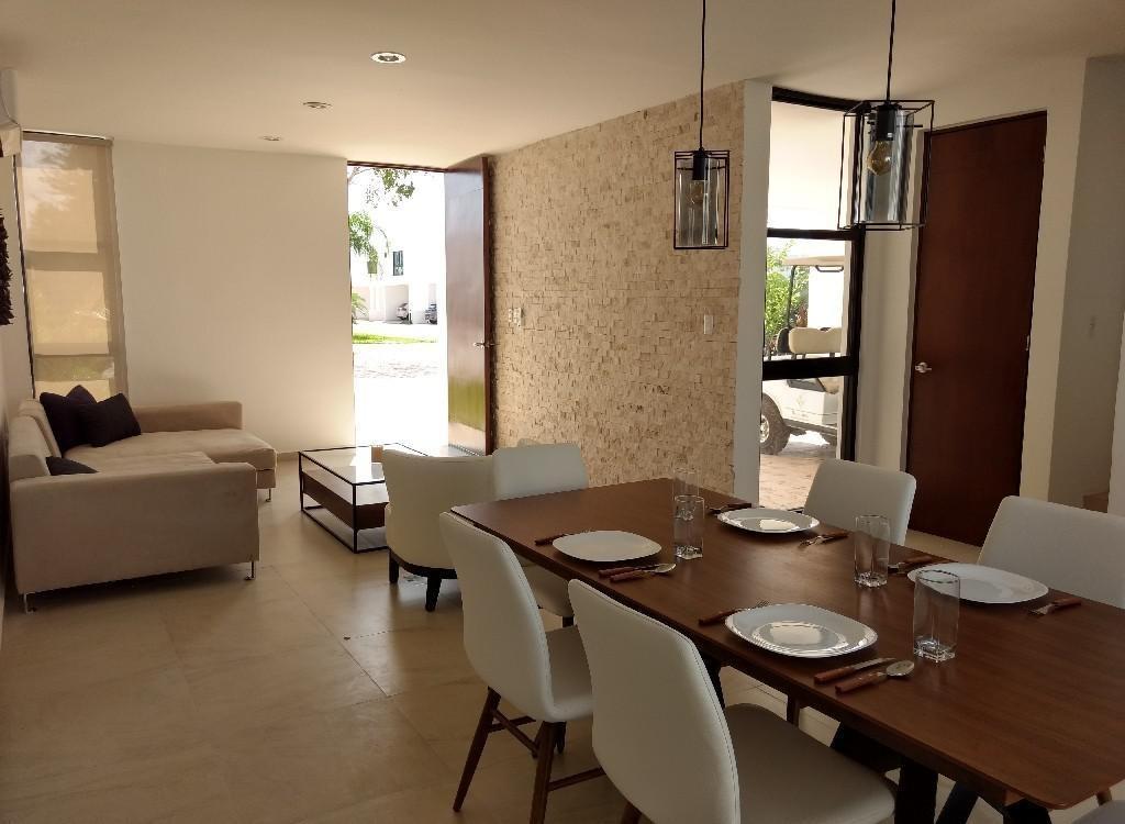 casa en venta,privada botánico con amenidades ,conkal,mérida,yucatán