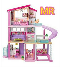 Pisos 3 Ensueños Casa De 2018 Barbie Dreamhouse Original La HIYWED29
