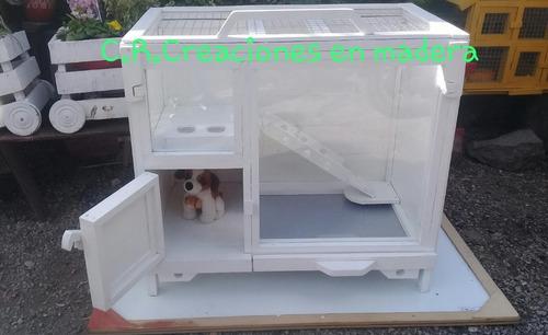 casa erizos jaula de cobayos cuis  hamsters ratones roedor