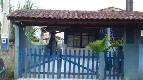 casa escriturada com 1 dormitório, itanhaém-sp - ref 1948-p