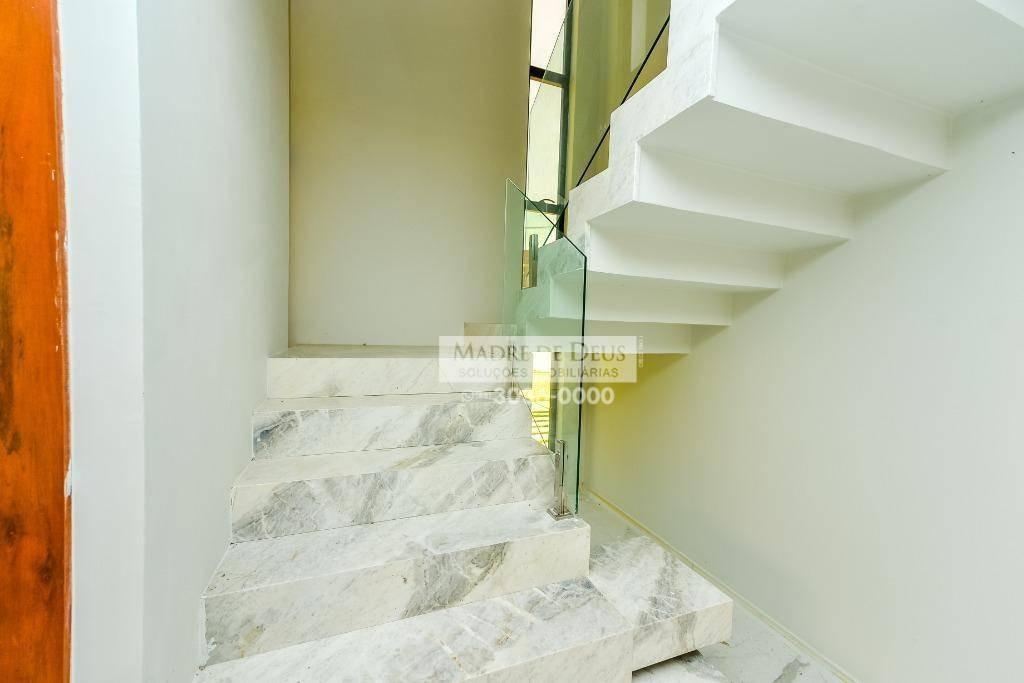 casa espetacular com 4 suítes, 351 m², no alphaville eusébio - ca1039
