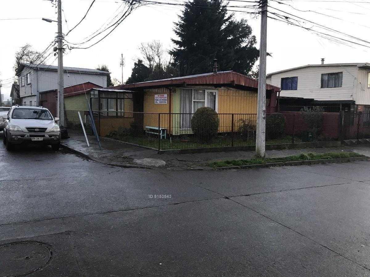 casa esquina en sector comercial de temuco