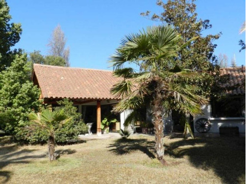 casa estilo colonial chilena.