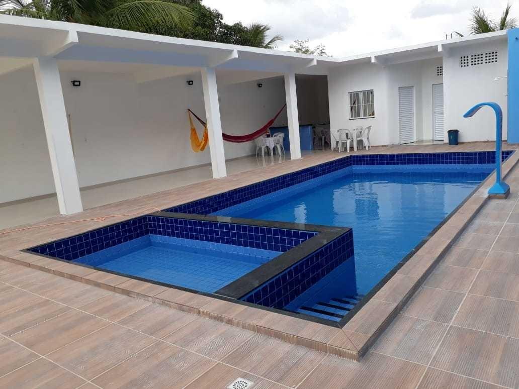 casa estância lazer com piscina,diárias,casamento e debutant