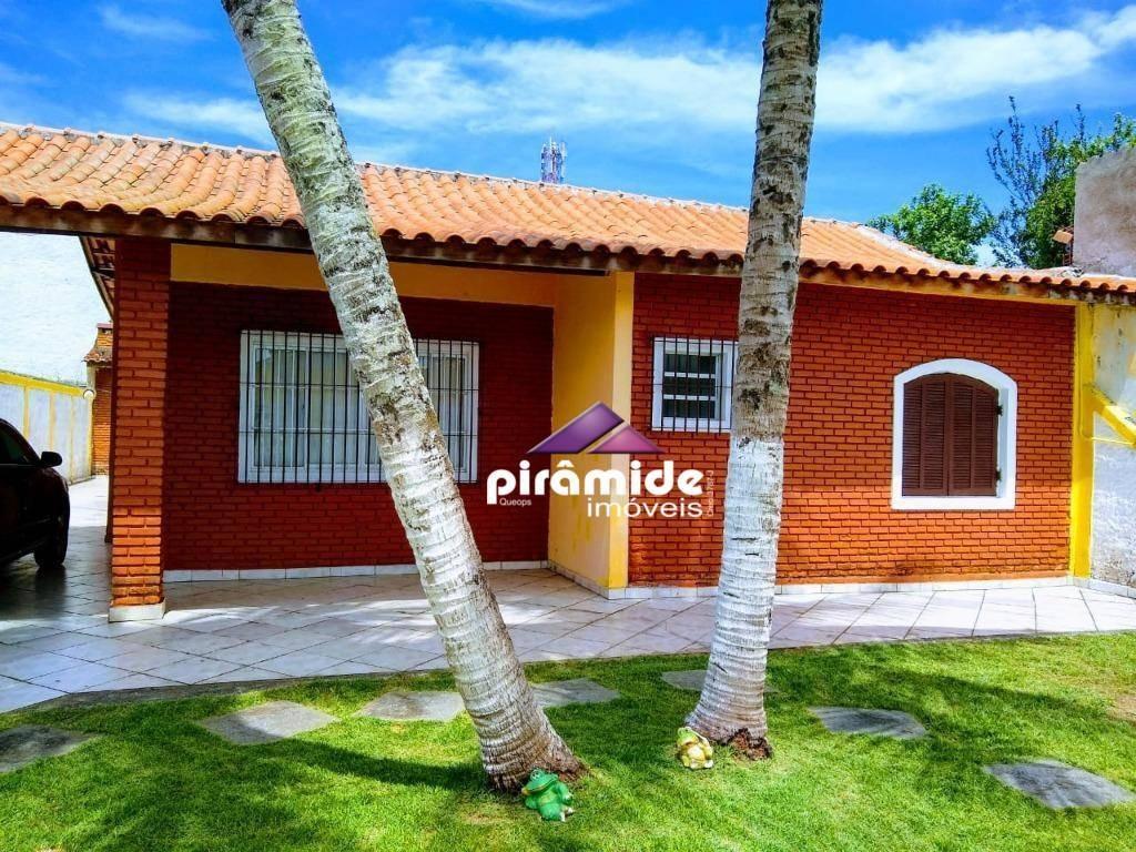 casa excelente, 2 dormitórios/suíte à venda, 130 m² por r$ 450.000 - jardim britânia - caraguatatuba/sp - ca5040