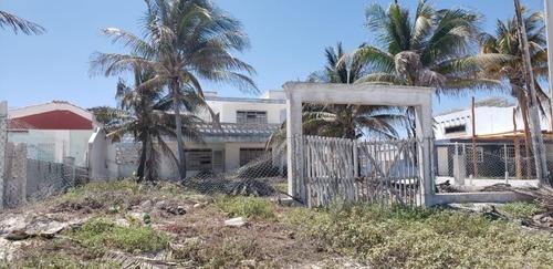 casa frente a la playa en yucalpetén en yucatán