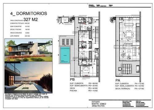 casa  frente al mar, 4 dormitorios, 4 baños, seguridad, piscina privada
