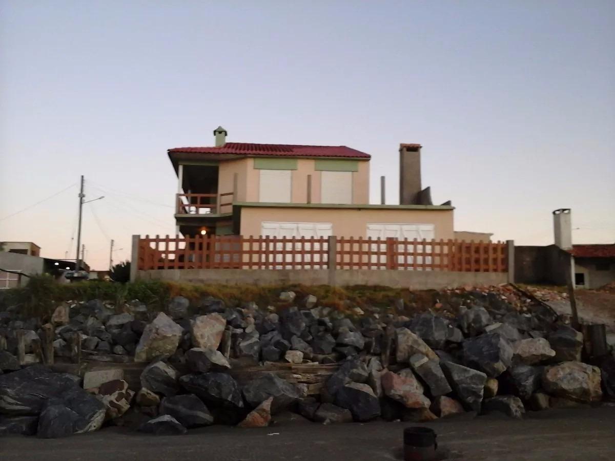 casa frente al mar - balneario hermenagildo vendo o permuto