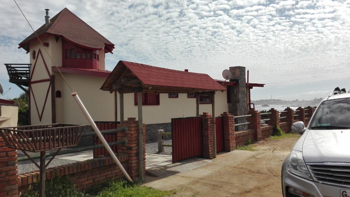 casa frente al mar punta de tralca