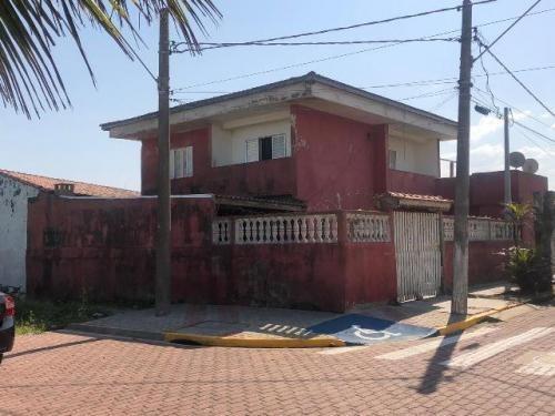 casa frente para o mar, no bairro nova itanhaém, em itanhaem