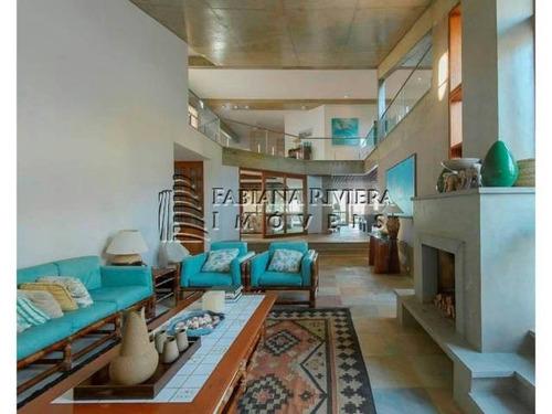casa frontal ao mar à venda em riviera: 6 suítes
