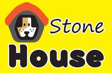 casa gato plast pet modelo stone house no.1 roja