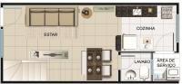 casa geminada 2 quartos - 147