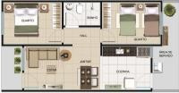 casa geminada 2 quartos - 151