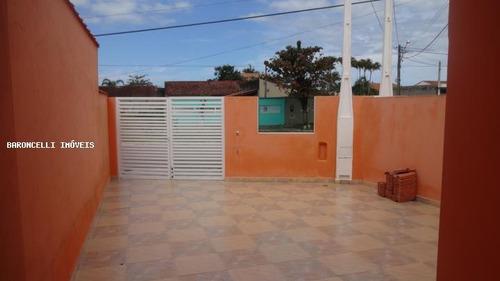 casa geminada a venda em itanhaém, balneário jd. das palmeiras, 2 dormitórios, 1 suíte, 4 banheiros, 2 vagas - rb 0358