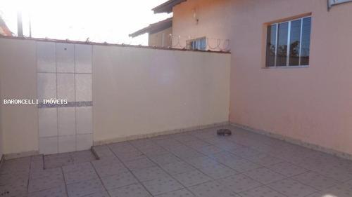 casa geminada a venda em itanhaém, balneario jd grandesp, 2 dormitórios, 1 suíte, 2 banheiros, 2 vagas - rb 0611