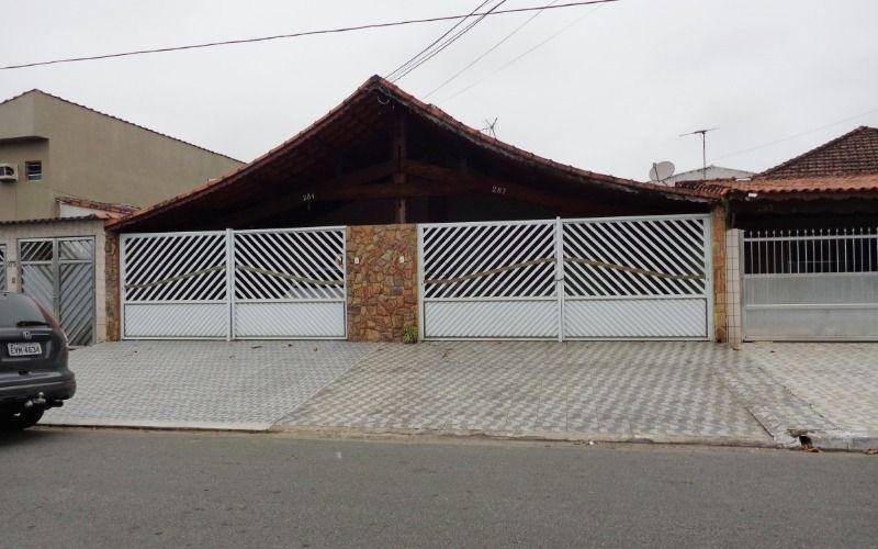 casa geminada c/ 3 dormitórios p/ venda no tude bastos em praia grande