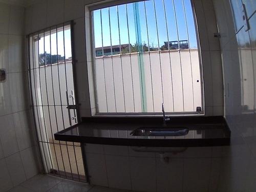casa geminada coletiva com 2 quartos para comprar no santa mônica em belo horizonte/mg - gar7828