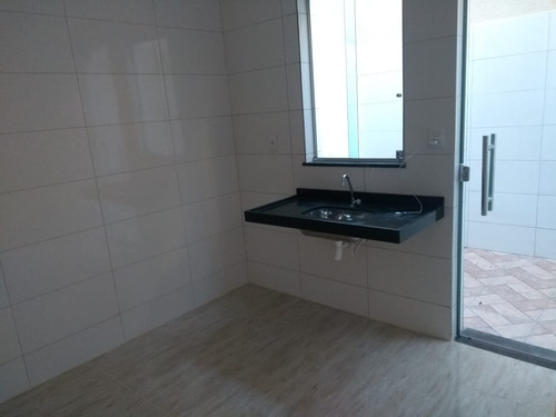 casa geminada com 2 quartos para comprar no nacional em contagem/mg - 45998