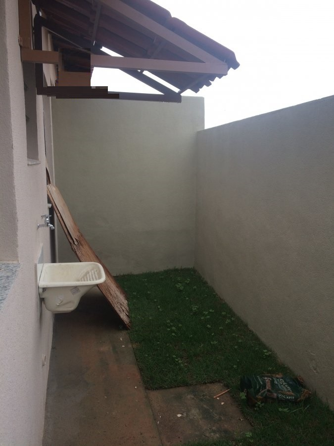 casa geminada com 2 quartos para comprar no paraíso das piabas (justinópolis) em ribeirão das neves/mg - 908