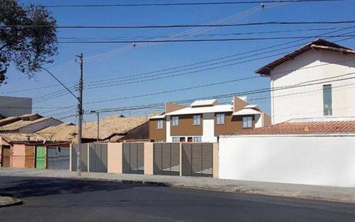 casa geminada com 2 quartos para comprar no santa branca em belo horizonte/mg - 3220