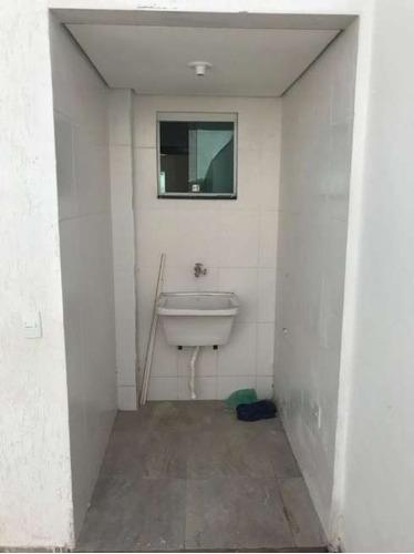 casa geminada com 2 quartos para comprar no santa mônica em belo horizonte/mg - 3205