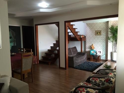 casa geminada com 3 quartos para comprar no canaã em belo horizonte/mg - 1860