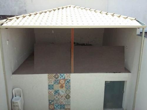 casa geminada com 3 quartos para comprar no europa em contagem/mg - 1359