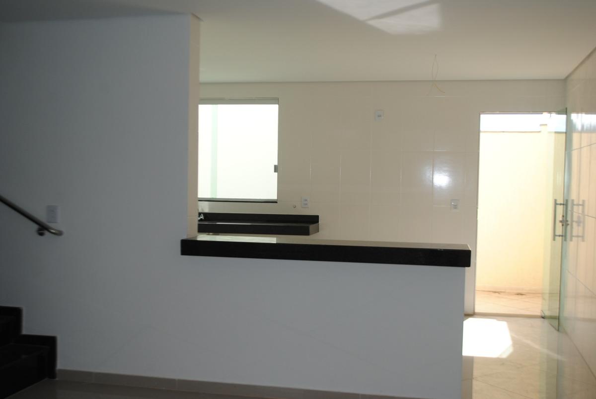 casa geminada com 3 quartos para comprar no riacho das pedras em contagem/mg - 1624