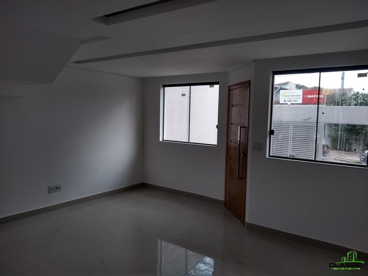 casa geminada com 3 quartos para comprar no santa branca em belo horizonte/mg - 3085