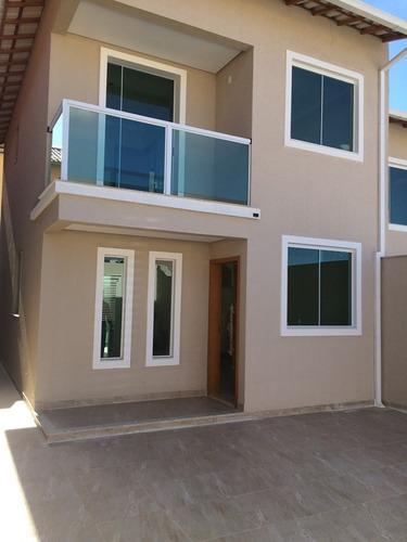 casa geminada com 3 quartos para comprar no santa mônica em belo horizonte/mg - 44184