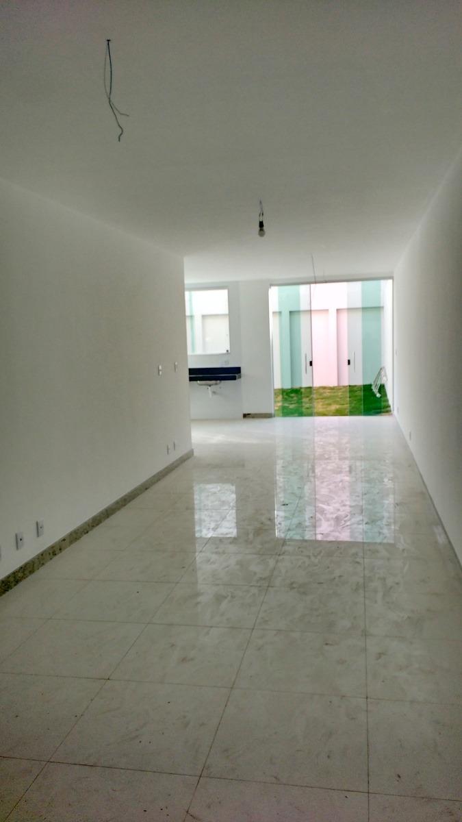casa geminada com 4 quartos para comprar no castelo em belo horizonte/mg - 3266