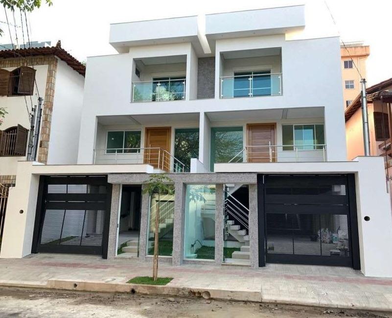 casa geminada com 4 quartos para comprar no santa branca em belo horizonte/mg - 3641