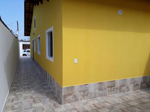 casa geminada à venda em mongaguá. ref.399 /115 cris