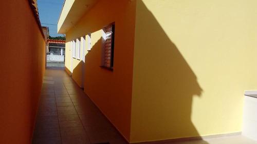 casa geminada à venda  no bal.. nova itanhaém. ref. 0490 m h