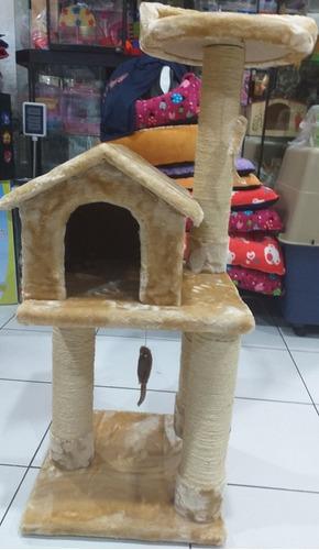 casa gimnasio gato rascador