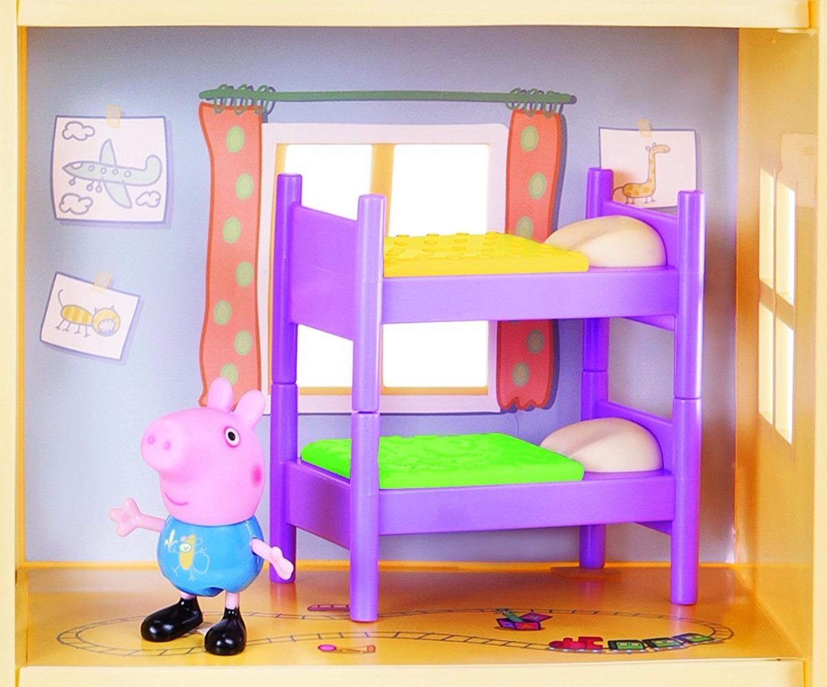 Casa Grande Con Muebles De Peppa Pig Para Ni As 2 189 00 En  # Muebles De Peppa Pig